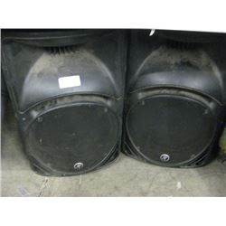 PAIR OF MACKIE SRM450 V2 AMPLIFIED SUBS