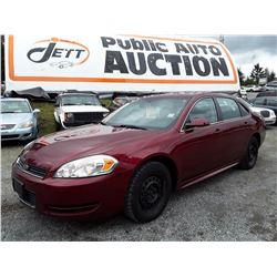 C2 --  2011 CHEVROLET IMPALA LS , Red , 122239  KM's