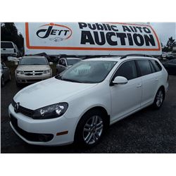 C5 --  2011 VW GOLF TDI , White , 109615  KM's 10YR OR 193,000 WARRANTY