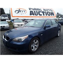 E3 --  2004 BMW 530I , Blue , 150900  KM's