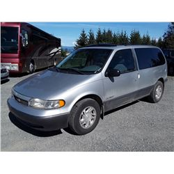 A6 --  1997 NISSAN QUEST XE , Grey , 295212  KM's - No Reserve