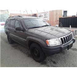 F6 --  2003 JEEP GRAND CHEROKEE , Grey , 208966  KM's