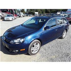 H3 --  2011 VW JETTA TDI , Blue , 100974   KM's 10YR OR 193,000 KM WARRANTY