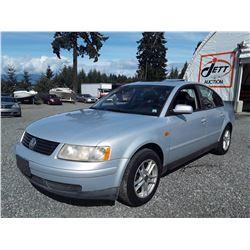 N6 --  1998 VW PASSAT , Grey , 204613  KM's