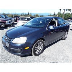 B4 --  2006 VW JETTA , Blue , 158797  KM's