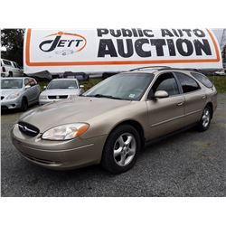 "A3 --  2000 FORD TAURUS SE , Brown , 169188  KM's ""No Reserve"""