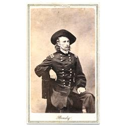 George Armstrong Custer.