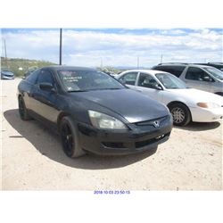 2003 - HONDA ACCORD EX