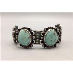 Older, Handmade Turquoise Bracelet