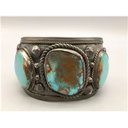 Large Bracelet with Bisbee Turquoise!!