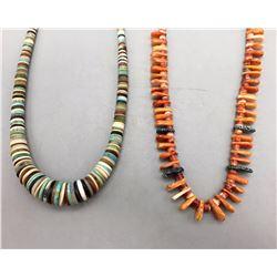 2 Pueblo Style Necklaces