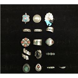 16 Vintage Rings