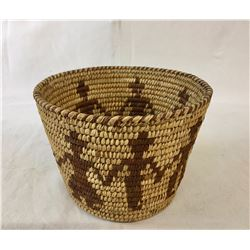 Vintage Tohono O'odham Friendship Basket
