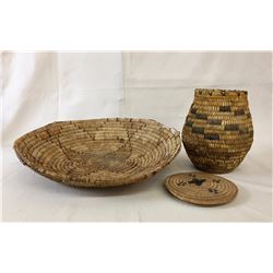 Misc. Old Basketry