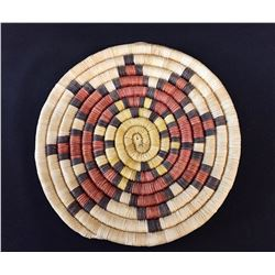Hopi Coiled Plaque/Basket