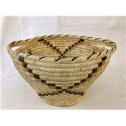 Large, Vintage Tohono O'odham Basket
