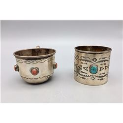 Two Sterling Silver Cups