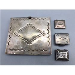 4 Sterling Silver Boxes