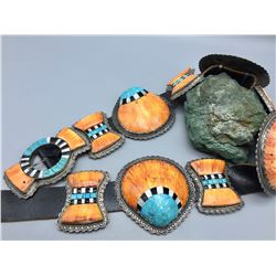 UNIQUE Concho Belt - Jack Adakai!