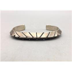 Older, Handmade Ingot Bracelet.