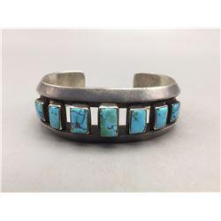 Older, Ingot Turquoise Bracelet - Pine Springs