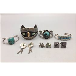 Group of Misc. Bracelets and Earrings