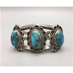 Vintage Three Stone Bracelet
