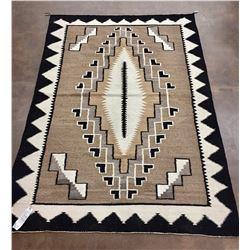 Large, Vintage Navajo Textile