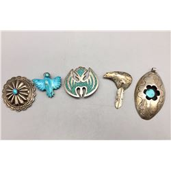 Group of Pendents, Etc.