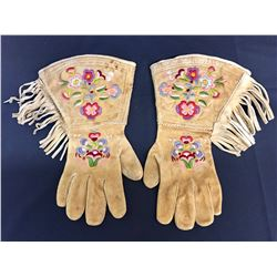 Cree Embroidered Gauntlets