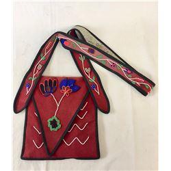 Cree Beaded Bandolier Bag