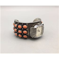 Coral Cluster Watch Bracelet - Fred Guerro