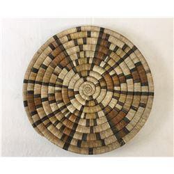 Vintage Hopi Coiled Basket