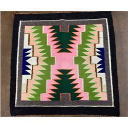 Brightly Colored Navajo Textile