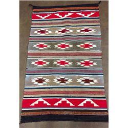 Busy, Vintage Navajo Textile