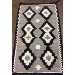 Vintage, Hand Spun Navajo Textile