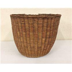 Hopi Wicker Peach Basket