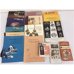 20 Books/Magazines - Native Subjects