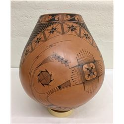 Large Jose Quezada Pottery Jar