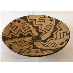Pima Basket - Whirling Geometric Designs