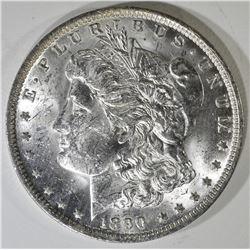 1890-O CH BU MORGAN DOLLAR