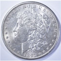 1897-S MORGAN DOLLAR  BU