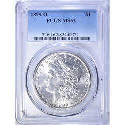 1899-O MORGAN DOLLAR, PCGS MS-62