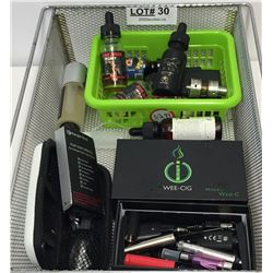 LOT OF VAPING AND E-CIG PRODUCTS