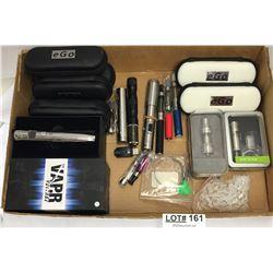 BOX OF MISC VAPE EQUIPMENT