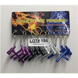 FASHION PIPE PENDANTS X12 - IN BOX