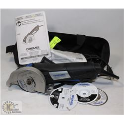 DREMEL ULTRA SAW WITH BAG.