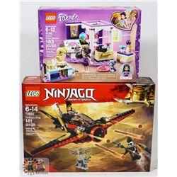 LEGO , NINJAGO, FRIENDS