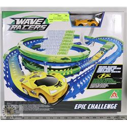 NEW WAVE RACERS EPIC CHALLENGE SPEEDWAY TRACK SET