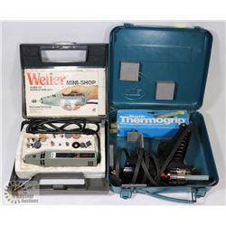 WELLER MINI SHOP KIT WITH BOSTIK 260 GLUE GUN IN